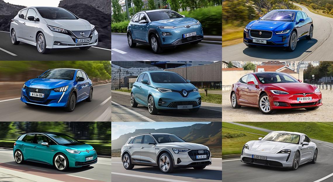 voitures électriques 2020